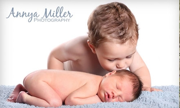 Annya Miller Photography - Pickering: $65 for One-Hour Studio Portraiture Session, CD of Five Retouched Digital Images, Plus 10% Off Prints at Annya Miller Photography ($580 Value)