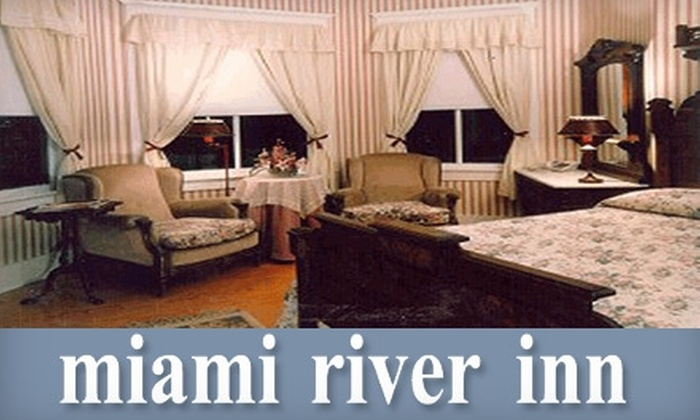 Miami River Inn - East Little Havana: $59 for a One-Night Stay and Bottle of Champagne at Miami River Inn (Up to $314 Value)