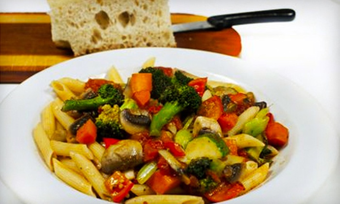 Dom's Pasta & Grill - Downtown: $15 for $30 Worth of Italian Fare and Drinks at Dom's Pasta & Grill