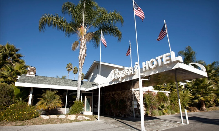 The Capri Hotel - Ojai, CA: Two-Night Stay for Four in a King or Double-Queen Room at The Capri Hotel in California