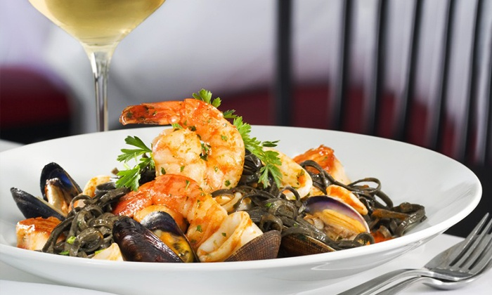 Bacio Italian Cuisine - The Strip: $42 for $80 Worth of Italian Cuisine for Parties of Two at Bacio Italian Cuisine at the Tropicana