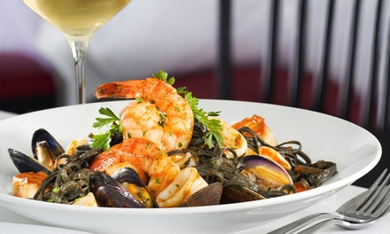 $42 for $80 Worth of Italian Cuisine for Parties of Two at Bacio Italian Cuisine at the Tropicana
