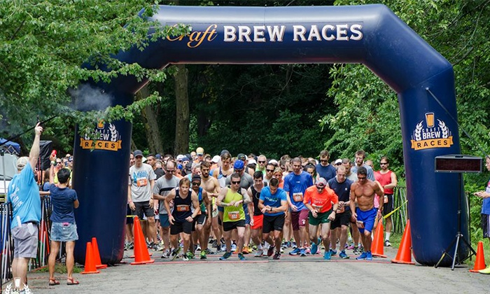 Craft Brew Races - Boulder: $30 for Entry for One to Craft Brew Races on Saturday, August 15 ($65 Value)