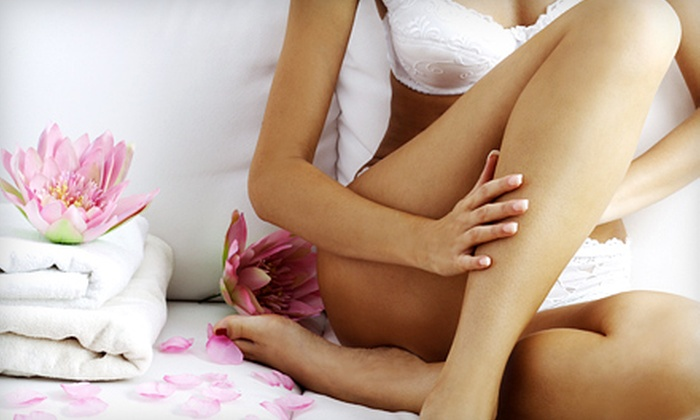 Deja Vu Spa - North Vancouver: $249 for One Year of Laser Hair Removal on Three Areas at Deja Vu Spa (Up to $4,500 Value)
