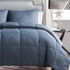 Chambray Down-Alternative Comforter Set