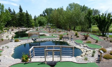 Mini Golf for Two or Four at Crystal Ridge Family Golfing (Up to 54% Off)