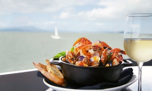 Skates On The Bay: Seafood and Steak for Lunch or Dinner at Skates on the Bay (Up to 33% Off). Three Options Available.