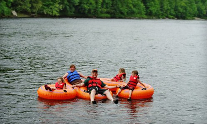 Adirondack Tubing Adventures - Adirondack Tubing Adventures: Two- or Four-Hour Guided Tubing Trip for Two or Four People from Adirondack Tubing Adventures (Up to 56% Off)