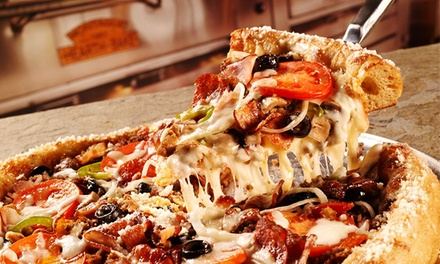 Pizza, Calzones, Hoagies, and Salads at Mellow Mushroom (45% Off)