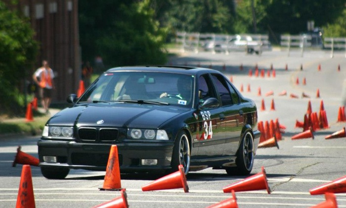 Xtreme Xperience - Michigan International Speedway: Three- or Nine-Lap Autocross-Track Driving Experience from Xtreme Xperience (26% Off)