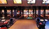 Frames Bowling Lounge NYC - Midtown Manhattan: Two Games of Bowling Including Shoe Rentals for 4, 6 or 10, or $15 for $30 Toward Games, Dinner, or Drinks