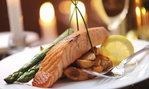 Café Ponte: Six-Course Tasting-Menu Dinner for Two or Four at Café Ponte (Up to 56% Off)