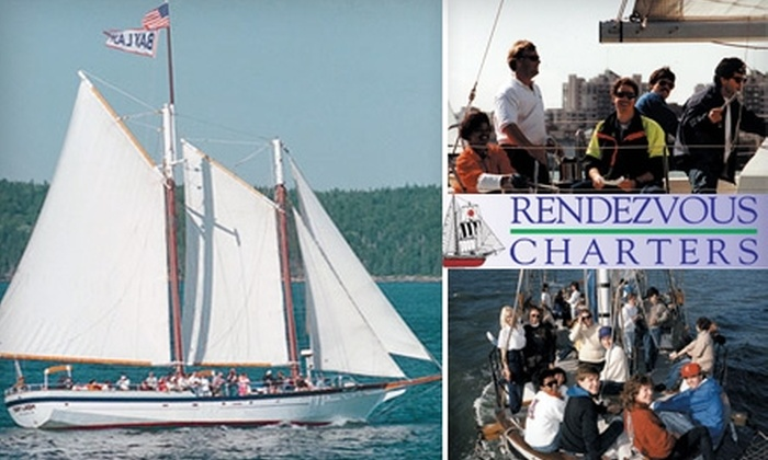 Rendezvous Charters - Potrero: $300 for a Two-Hour Group Party Package from Rendezvous Charters (Up to $600 value)
