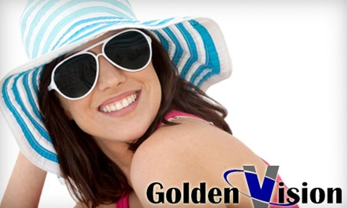 Golden Vision & Family Eye Care - Sarasota: $75 for $200 Worth of Frames, Lenses, and Vision Services at Golden Vision & Family Eye Care