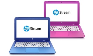 "HP Stream 11.6"" Laptop PCs: HP Stream 11.6"" Laptop PCs with 2.16GHz Intel Celeron Processors (Factory Refurbished)"