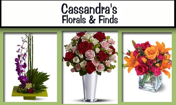 Cassandra's Florals & Finds - Dormont: $30 for $60 Worth of Fresh Floral Arrangements at Cassandra's Florals & Finds