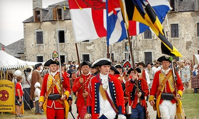 Old Fort Niagara - Porter: $10 Admission for Two to Old Fort Niagara