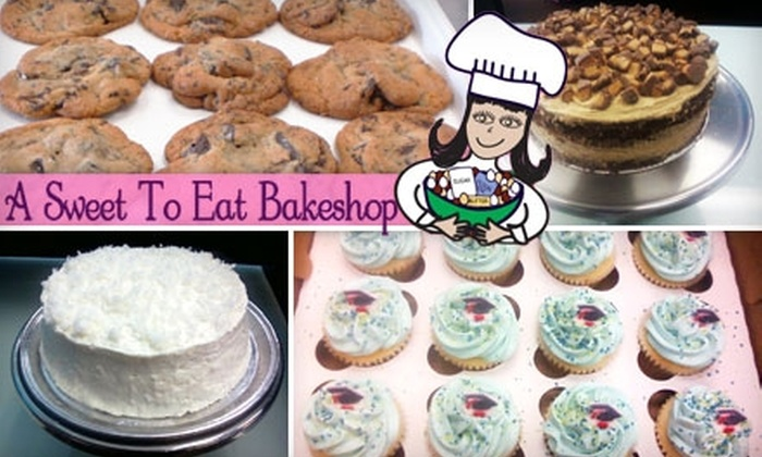 A Sweet to Eat Bake Shop - Deerwood: $6 for $12 Worth of Sweet Treats at A Sweet to Eat Bake Shop