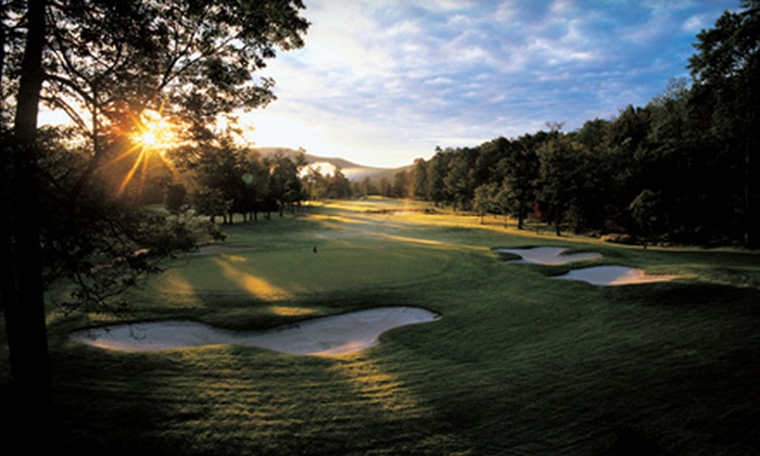 Stratton Mountain Golf Course - Stratton Mountain: One Round of Golf With Cart Rental or a Discount Green Card at Stratton Mountain Golf Course