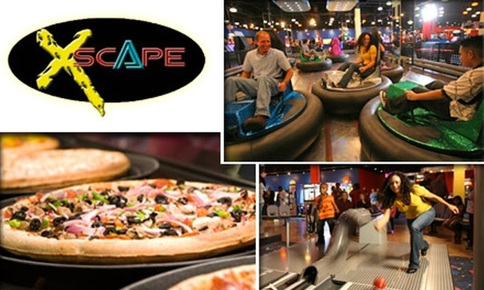 Xscape - Pike: $10 for 3 Attractions, Buffet, Soft Drinks, and $10 Game Card at Xscape (Up to $33.49 Value)