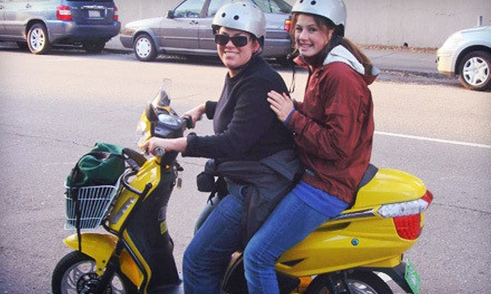 Green Choice Moto - Downtown Toronto: Three-Hour Scooter Rental for One or Two from Green Choice Moto (Up to 58% Off)