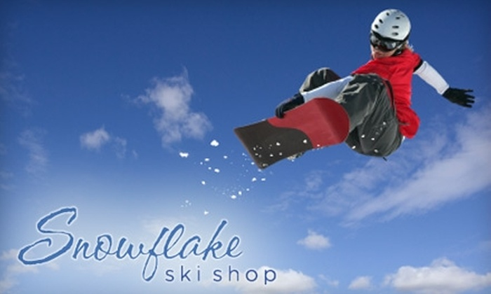 Snowflake Ski Shop and TwoFourFive Boardshop - Lockport: Ski or Snowboard Wax and Sharpen at Snowflake Ski Shop and TwoFourFive Boardshop in Lockport. Choose from two options.