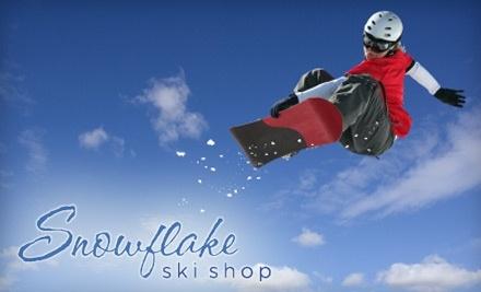 Snowflake Ski Shop and TwoFourFive Boardshop: Snowboard Wax and Sharpen - Snowflake Ski Shop and TwoFourFive Boardshop in Lockport