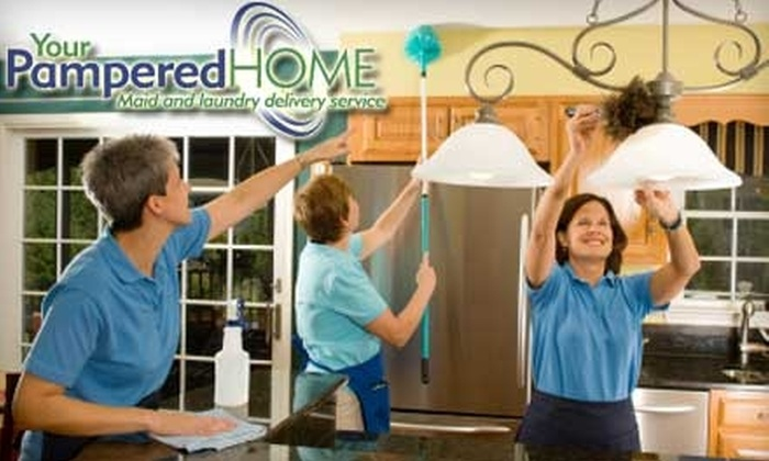 Your Pampered Home - Washington DC: Bedroom and Bathroom Cleaning Services from Your Pampered Home. Choose from Three Options.