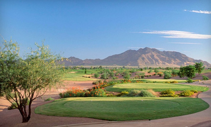 Trilogy Golf Club at Power Ranch - Gilbert: $35 for One Round of Golf, Cart Rental, Golf Clinic, and Range Balls at Trilogy Golf Club at Power Ranch in Gilbert (Up to $90 Value)