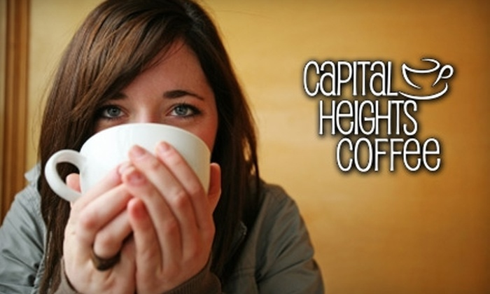 Capital Heights Coffee - Mid City South: $5 for $10 Worth of Coffee and Treats at Capital Heights Coffee