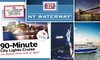 Port Imperial Ferry Corporation - Clinton: $15 for One of Three 90-Minute NY Waterway Boat Tours