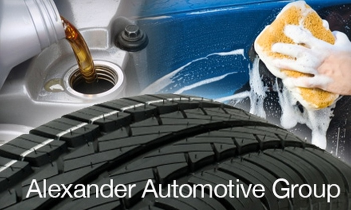 Alexander Mazda of Cool Springs - Franklin: $39 for an Oil Change, Car Wash, Tire Rotation, and Inspection at Alexander Mazda of Cool Springs ($93 Total Value)