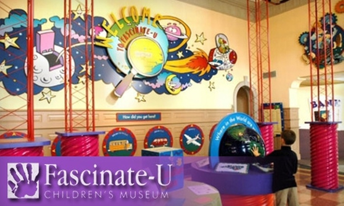 Fascinate-U Children's Museum - Downtown Fayetteville: $20 for a One-Year Family Membership to Fascinate-U Children's Museum ($40 Value)