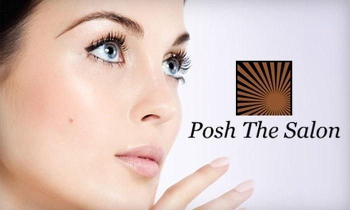 Posh the Salon - Warehouse District: $40 for a Therapeutic Facial ($90 Value) or $10 for a Multitask Eye Mask or Lip Exfoliation ($20 Value) at Posh The Salon in Durham