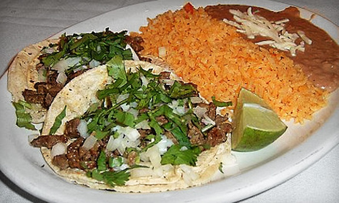 El Ranchito Express - Palos Hills: Mexican Dinner with Entrees, Desserts, and Nonalcoholic Drinks for Two, Four, or Six at El Ranchito Express in Palos Hills