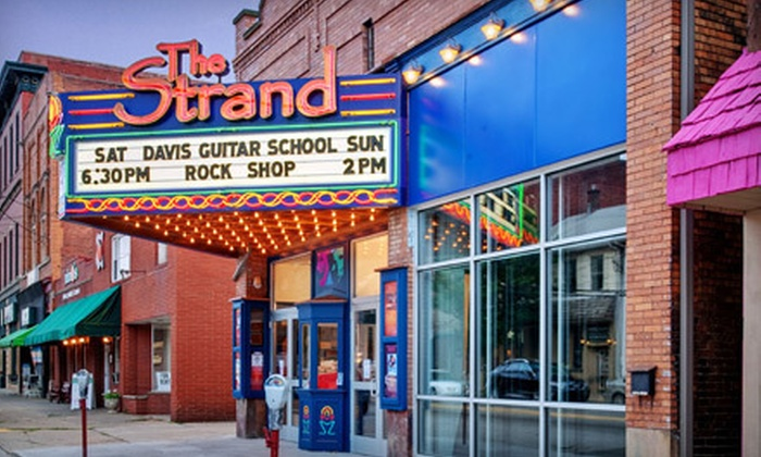 The Strand Theater - Zelienople: $45 for Three Broadway Concert Outings at The Strand Theater in Zelienople ($90 Value). Two Options Available.