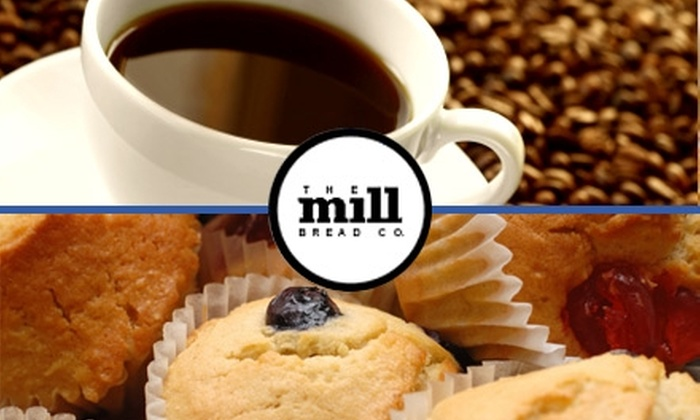 The Mill Bread Co. - Fort Wayne: $5 for $10 Worth of Specialty Beverages and Bakery Bites at The Mill Bread Co.
