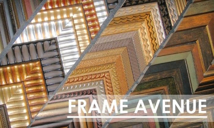 Frame Avenue - Bethesda: $60 for $120 Toward Custom Framing at Frame Avenue