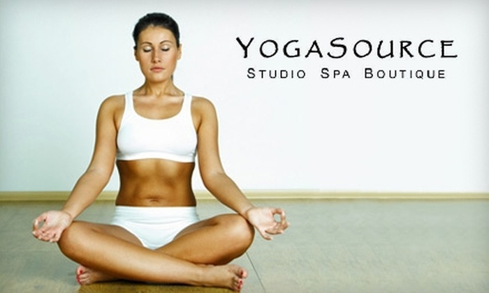 YogaSource - Los Gatos: $29 for One Month of Unlimited Yoga at YogaSource in Los Gatos ($165 Value)