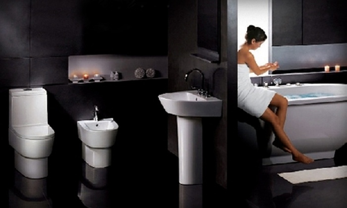 Beauty Saunas and Baths - Northeast Calgary: $149 for $400 Worth of Bathroom Fixtures and Products at Beauty Saunas & Baths