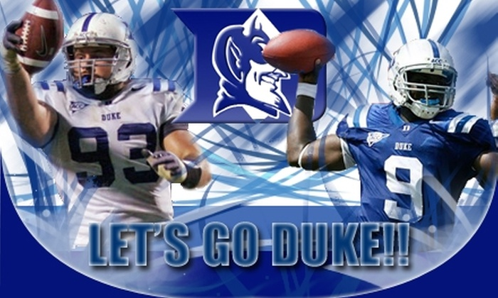 Duke Football - Charlotte: $20 Football Ticket to Duke vs. Georgia Tech on November 14