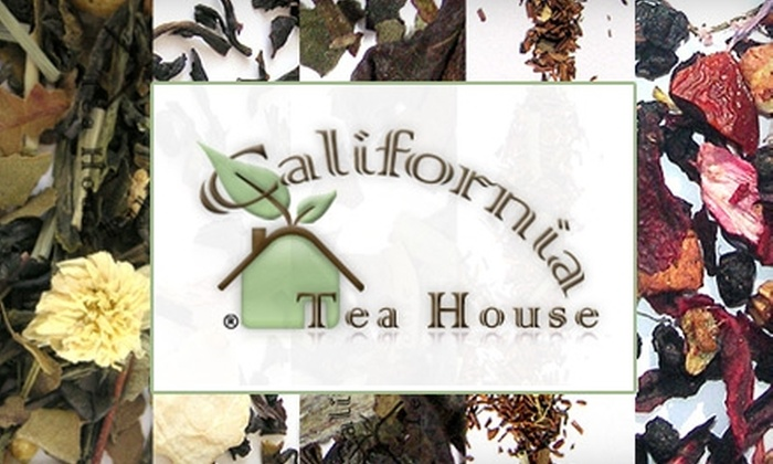 California Tea House - Bakersfield: $15 for $32 Worth of Loose-Leaf Tea from California Tea House