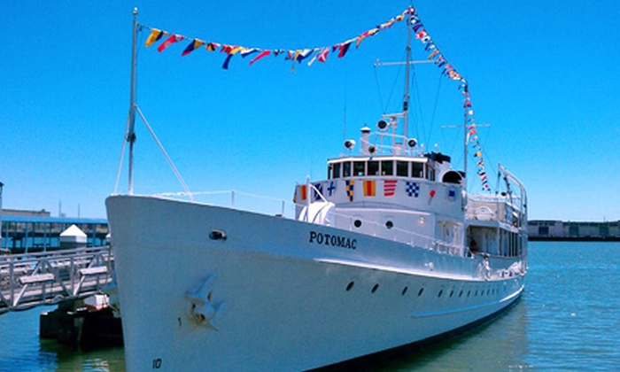 USS Potomac - Produce and Waterfront: $25 for One Guided Tour for Four of the USS Potomac: FDR's Presidential Yacht (Up to $40 Value)
