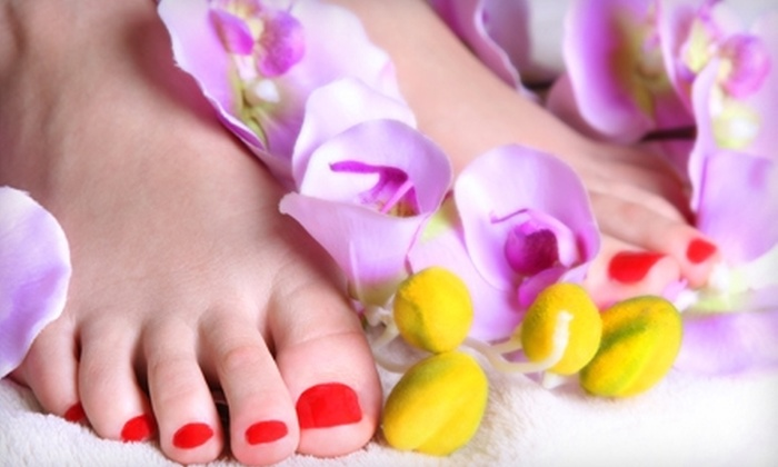 Serenity Salon & Spa - Machesney Park: $20 for a Spa Pedicure with a Paraffin Treatment at Serenity Salon & Spa ($50 Value)