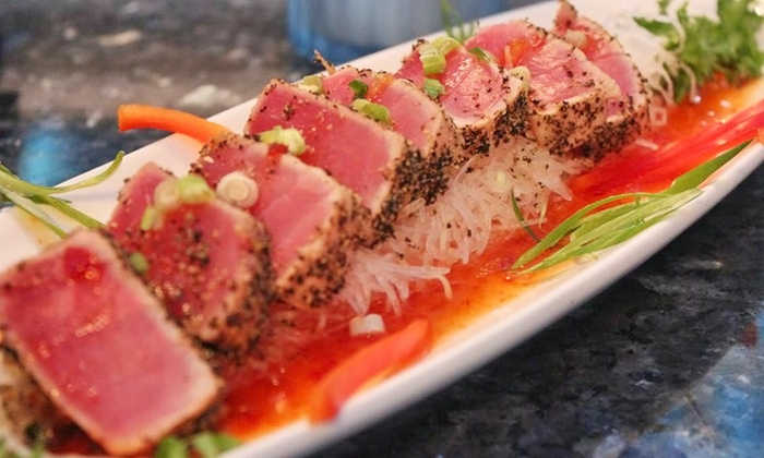 Czar Ice Bar & Sushi Restaurant - Atlanta: Sushi and Drinks at Czar Ice Bar & Sushi Restaurant (Up to 42% Off). Two Options Available.