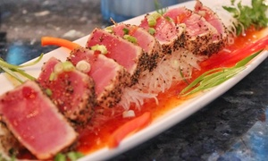Czar Ice Bar & Sushi Restaurant: Sushi and Drinks at Czar Ice Bar & Sushi Restaurant (Up to 42% Off). Two Options Available.