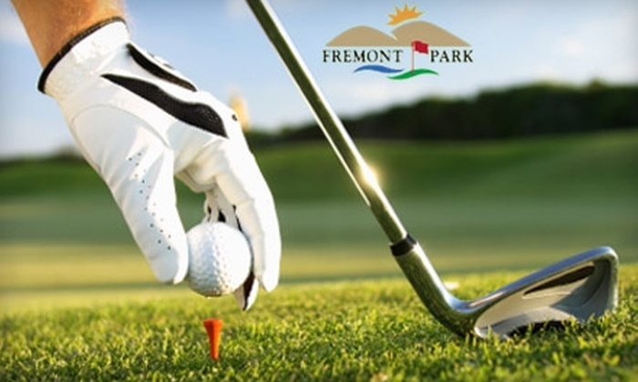 Fremont Park and Practice Center - Central Downtown: $33 for a Round of Golf and Range Card at Fremont Park Golf and Practice Center in Fremont (Up to $71 Value)