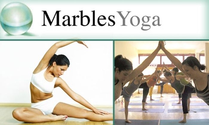 Marbles Yoga Studio - Lafayette Square: $60 Worth of Yoga Classes at Marbles Yoga Studio
