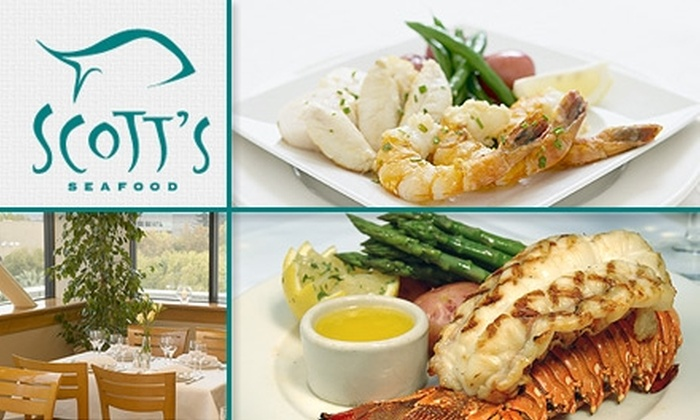 Scott's Seafood - Downtown San Jose: $30 for $60 Worth of Fresh Fish Dinner at Scott's Seafood San Jose