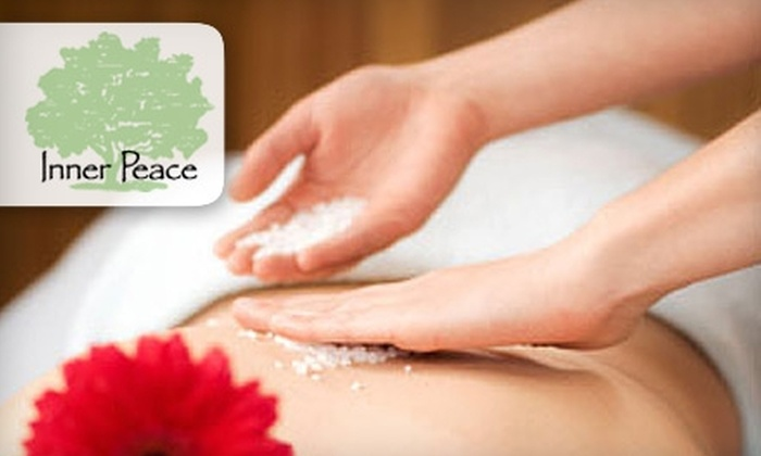 Inner Peace Holistic Center - Central Business District: $45 for a Salt Glo Body Scrub at Inner Peace Holistic Center ($90 Value)